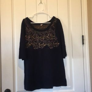Free People Tunic Sweater Dress Size M